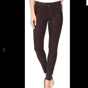 NEW Joe's Jeans The Icon Coated Skinny Ankle in 26
